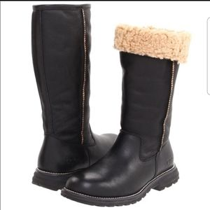 UGG Brooks Black Tall Boot